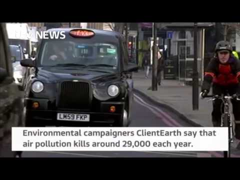 The UK has illegal levels of nitrogen dioxide pollution