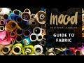Mood Fabrics 318259 Blue Floral Laser-Cut Scuba Knit Neoprene