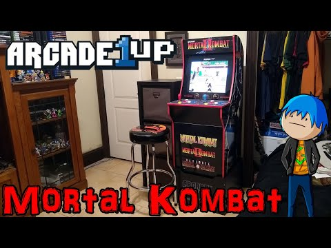Mortal Kombat Arcade1Up - Cabinet, Stool, and Riser Review (With Gameplay)
