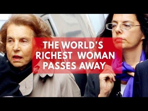 Liliane Bettencourt dies: The world's richest woman passes away
