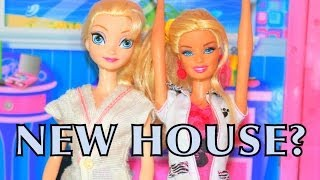 Elsa Vacation Home? Mattle Barbie Beach Doll House Disney Frozen Parody Alltoycollector