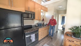 Engineers Single Level Tiny House Is Perfect For Retirement Aged Seinors