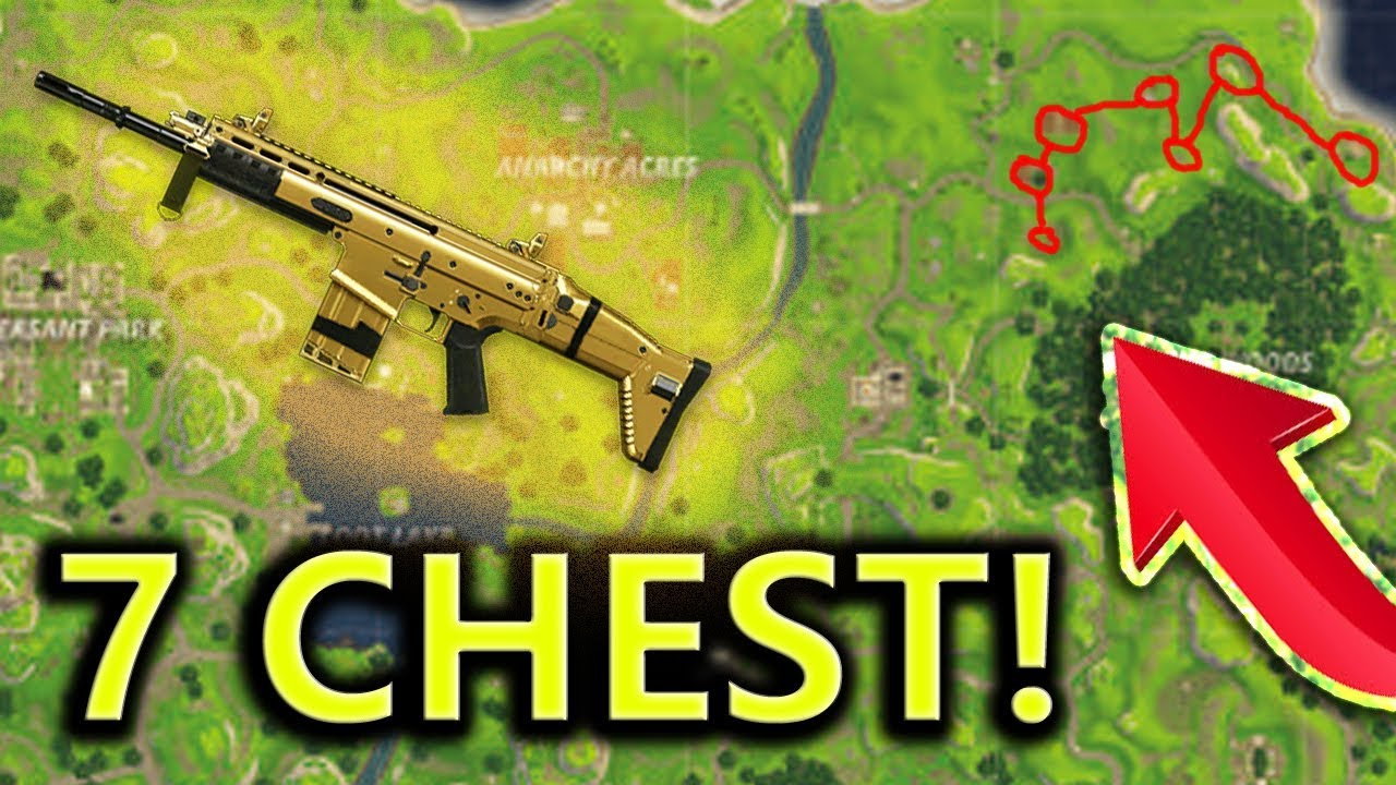 Top Places To Find The Best Loot: Looting 7 Chests In A Row! Loot/Chest Spots! Fortnite