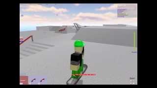 ROBLOX : Just having fun Skateboarding