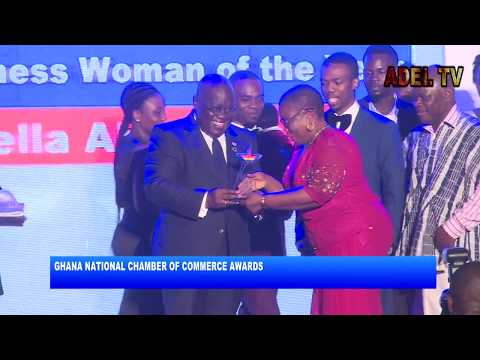 PRESIDENT AT THE GHANA NATIONAL CHAMBER OF COMMERCE AWARDS_AKM