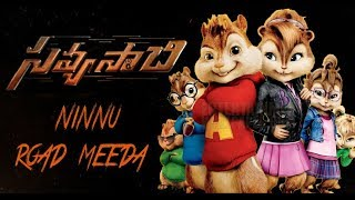 Ninnu Road Meeda – Savyasachi movie || chipmunks spoof || whatsapp satus || ksd sundar