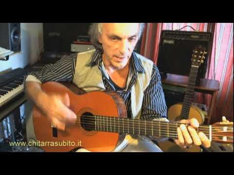 Lezioni di chitarra dare ritardo alla nota di canto