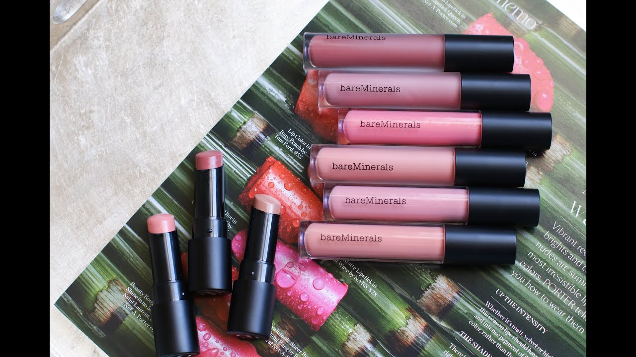 Review + Swatches of the Bareminerals GEN NUDE collection