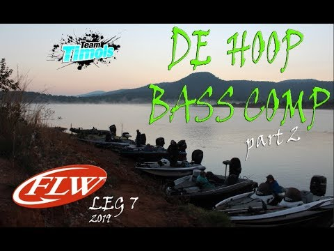 DAY 2 @ DE HOOP Dam  - Bass Fishing Comp (TOP 5)