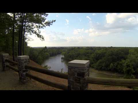 DeSoto Bluff, Ouachita River, Arkadelphia, Arkansas 2013 Revised Video