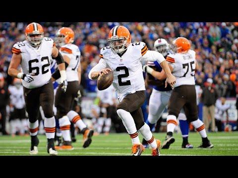 Johnny Manziel's first regular season touchdown (Week 13, 2014)