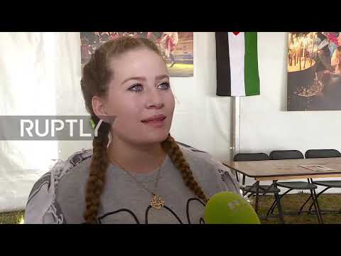 France: Ahed Tamimi celebrated at fundraising event in Paris