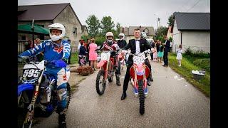 Pojechałem crossem do ślubu! / Riding to wedding on my dirt bike!