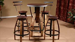 Wine Barrel Furniture I Wine Barrel Table Designs