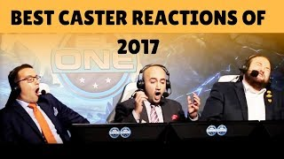 CS:GO - BEST CASTER REACTIONS OF 2017!! (Feat. Anders, Sadokist, Semmler & More!)