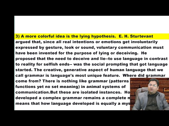 Origin of Language 7 in Urdu Hindi