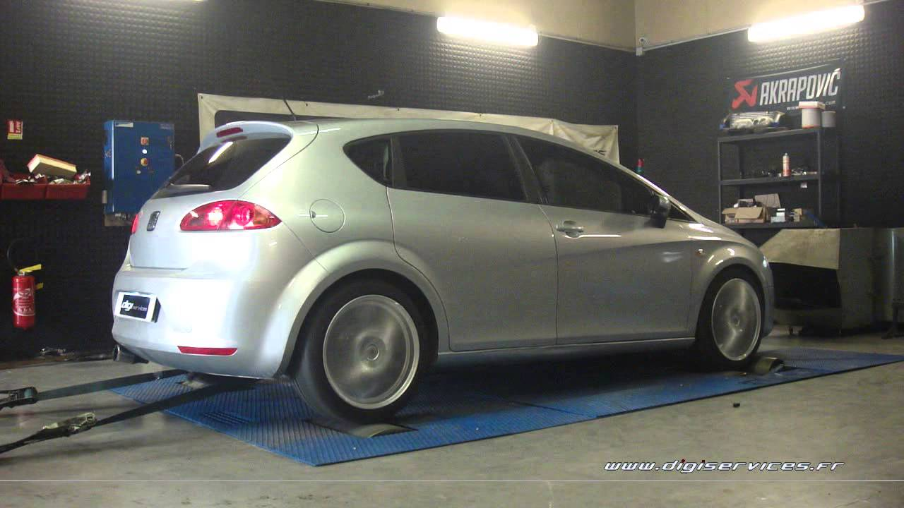 seat leon 1 9 tdi 105cv reprogrammation moteur 143cv digiservices paris 77 dyno youtube. Black Bedroom Furniture Sets. Home Design Ideas