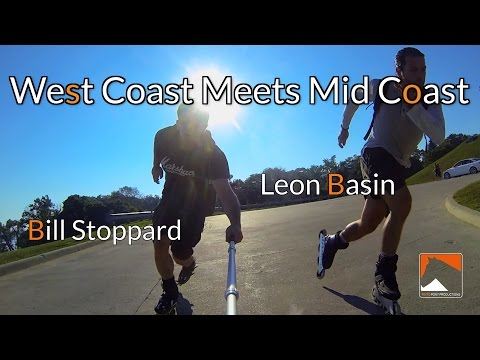 Skaters Leon Basin & Bill Stoppard Rip Toronto- West Coast Meets Mid Coast