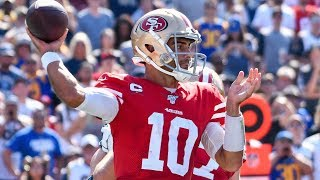 Jimmy Garoppollo QB San Francisco 49ers Film Review vs Rams