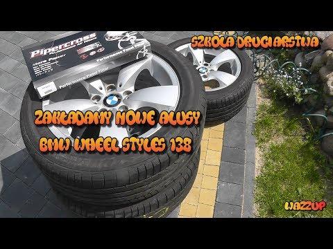 """Szkoła Druciarstwa Zakładamy Nowe Alufelgi 17"""" BMW Wheel Styles 138 Wazzup :)"""