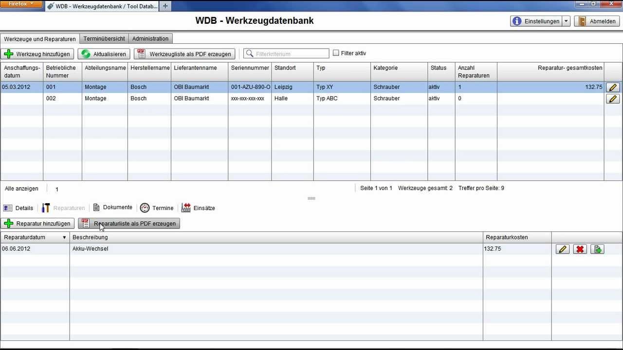 """Überblick """"WDB - Werkzeugdatenbank"""" - YouTube"""