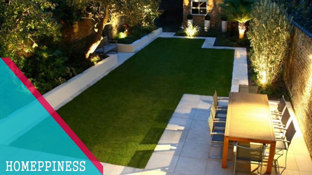 (MUST WATCH) 7+ Attractive Rectangular Garden Ideas For Modern Home Design