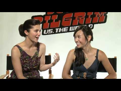Scott Pilgrims' two loves: Mary Elizabeth Winstead and Ellen Wong