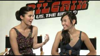 Scott Pilgrims' two loves: Mary Elizabeth Winstead and Ellen Wong
