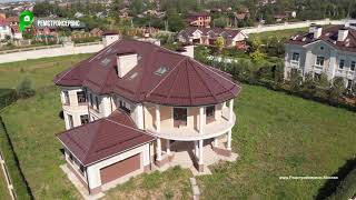 Строительство двухэтажного дома под ключ, стиль ренессанс, панорамное остекление | РЕМСТРОЙСЕРВИС