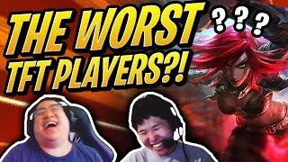 TOAST & SCARRA - THE WORST TFT PLAYERS!? | Teamfight Tactics | League of Legends Auto Chess
