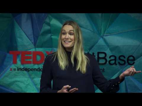 Laugh, cry, connect... How entertainment can save our planet | Ashlan Cousteau | TEDxScottBase