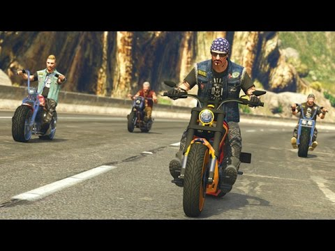 GTA 5 Online - BIKER GANGS | NEW BIKERS DLC GAMEPLAY! (GTA V Online)