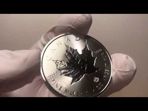 New Stunning Variant to the new 2018 Canada Maple Leaf Silver Bullion is a Must Have!