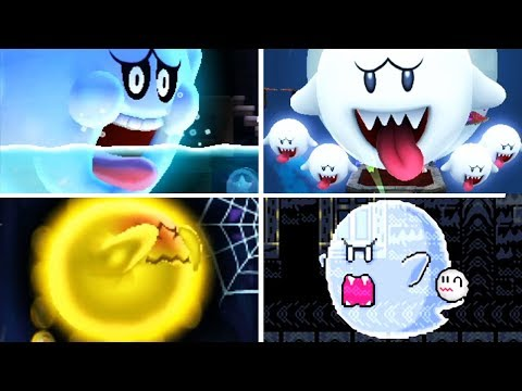 Evolution of - Big Boo in Super Mario Games
