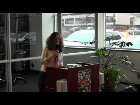 Suzanne McDonald at Eerdmans Bookstore