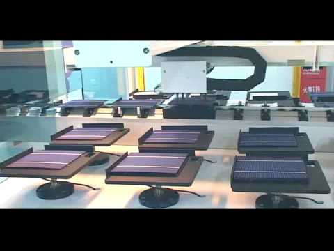 BYD Solar Panel Manufacturing and Assembly