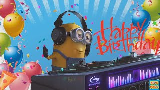minion happy birthday song despicable me nursery rhymes for kids childrens songs