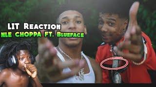 NLE Choppa - Shotta Flow Remix ft. Blueface (Dir. by @_ColeBennett_) *REACTION*