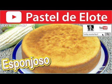 PASTEL DE ELOTE ESPONJOSO O PAN DE ELOTE, MAÍZ, CHOCLO | Vicky Receta Facil