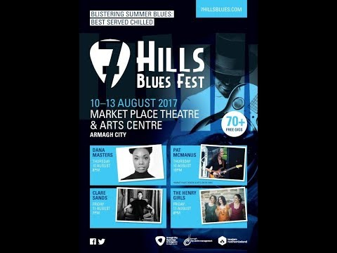 The Pat McManus Band at The Market Place Theatre & Arts Centre, Armagh (7 Hills Blues Festival 2017)