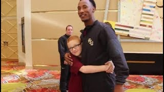 Remembered: <b>Travis Rudolph</b> changes a life