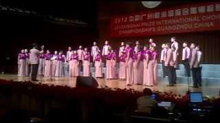 Vox Angelica Choir - Lux Aurumque (E. Whitacre)