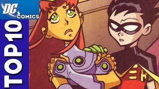 Top 10 Robin and Starfire Moments From Teen Titans #2