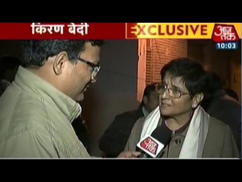 Newly-inducted BJP leader Kiran Bedi confident of Modi govt in Delhi