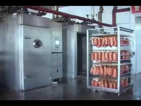Stainless Steel Mechanical Sausage Smokehouse Meat Smoker YouTube