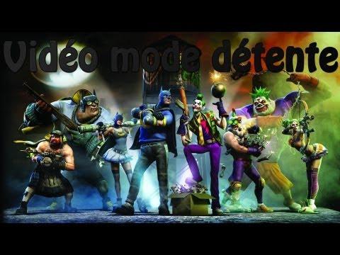 Vidéo mode détente sur ... Gotham City Impostors