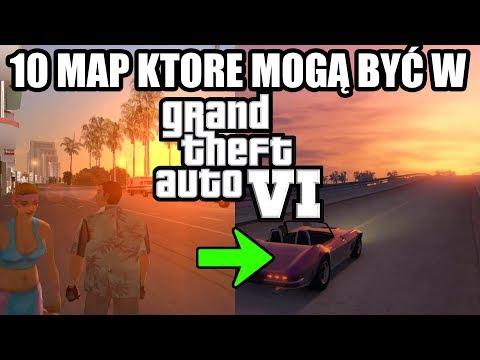 POWRÓT DO VICE CITY W GTA VI?! 10 map, które mogą być w GTA VI - Jan ...