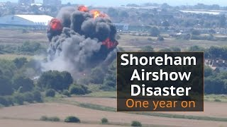 Shoreham Airshow crash: One year on from the deadliest UK disaster since 7/7