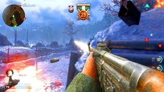 COD: WW2 Multiplayer GAMEPLAY - 25+ KILLSTREAK! (NEW GUNS + MORE)