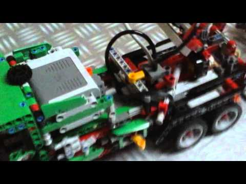 full download lego technic camion 8258 remorque. Black Bedroom Furniture Sets. Home Design Ideas